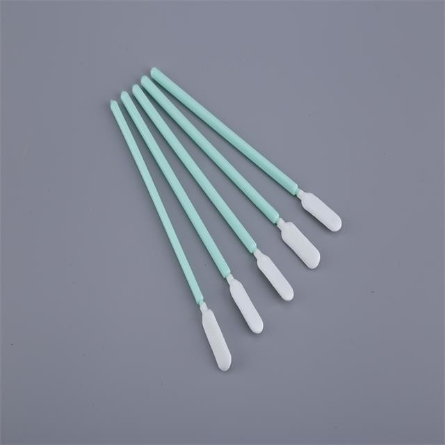Cleanroom Tiny Cotton Swabs Polyester Nonwoven Head Apply To Semiconductor supplier
