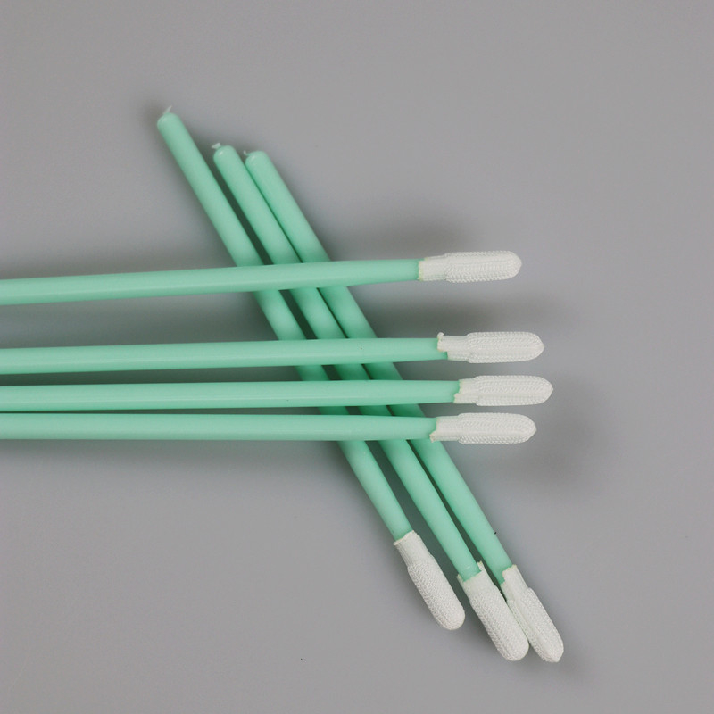 China Supplier TX754 SGS Approved Cleanroom Round Head Polyester Swab supplier